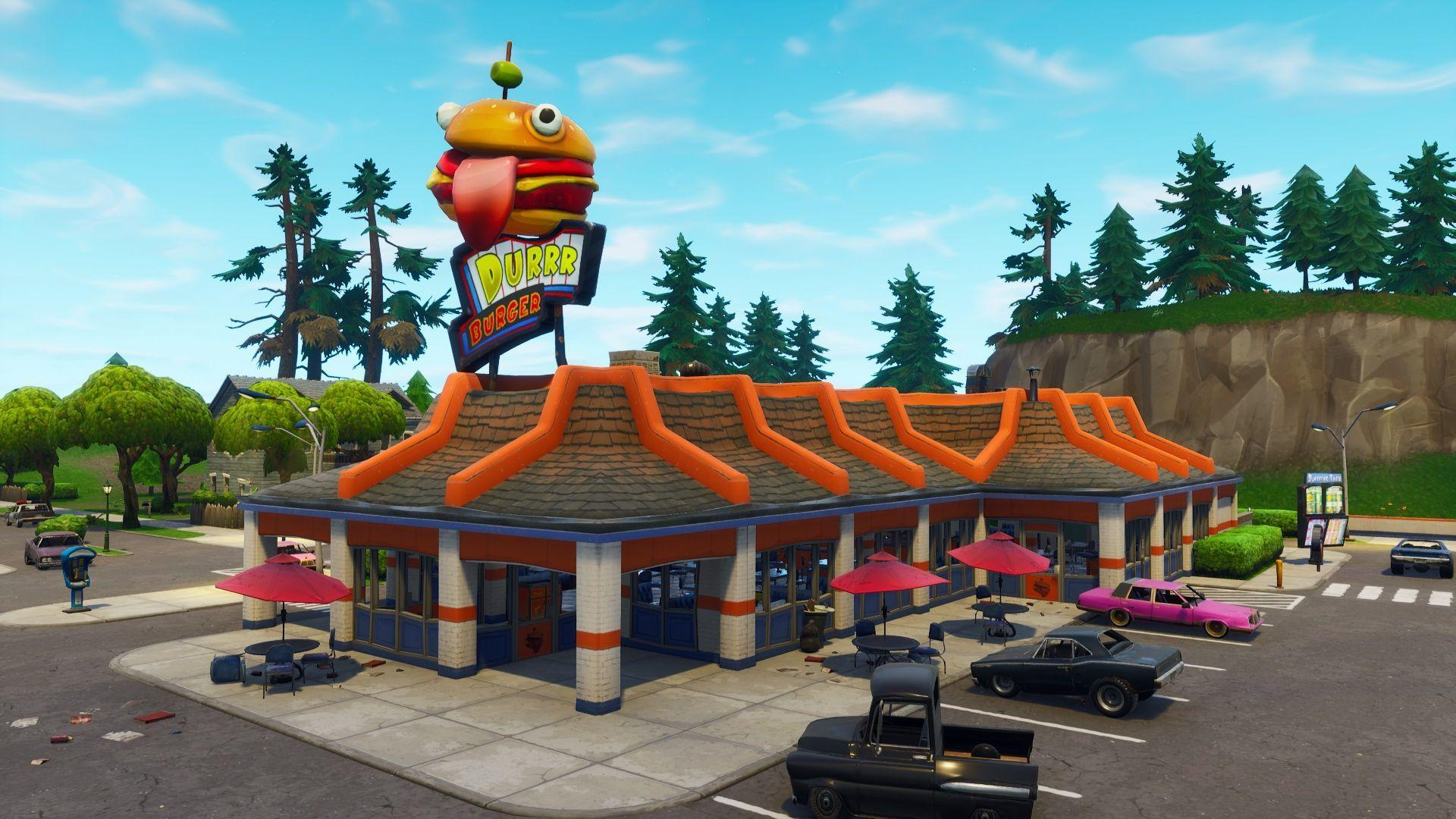 39 Best Free Fortnite Durr Burger Wallpapers - WallpaperAccess
