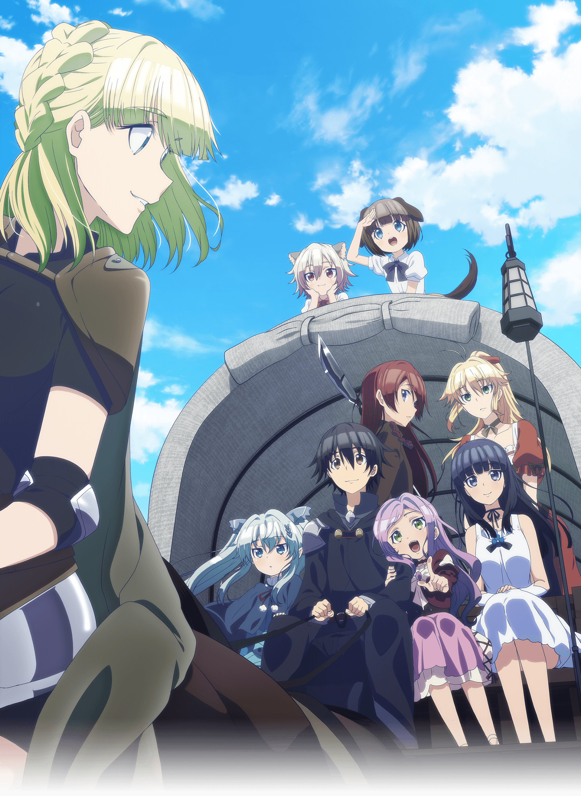 Death March To The Parallel World Rhapsody Wallpapers Wallpaper Cave