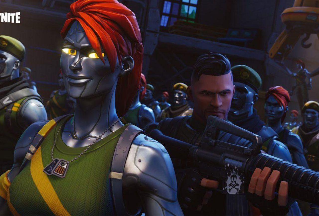 Season 4: Are Fortnite's Chromium And Diecast Skins Superheroes Or
