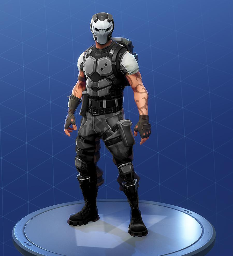 The Battlehawk skin with Carbide's helmet looks like a bank robber ...