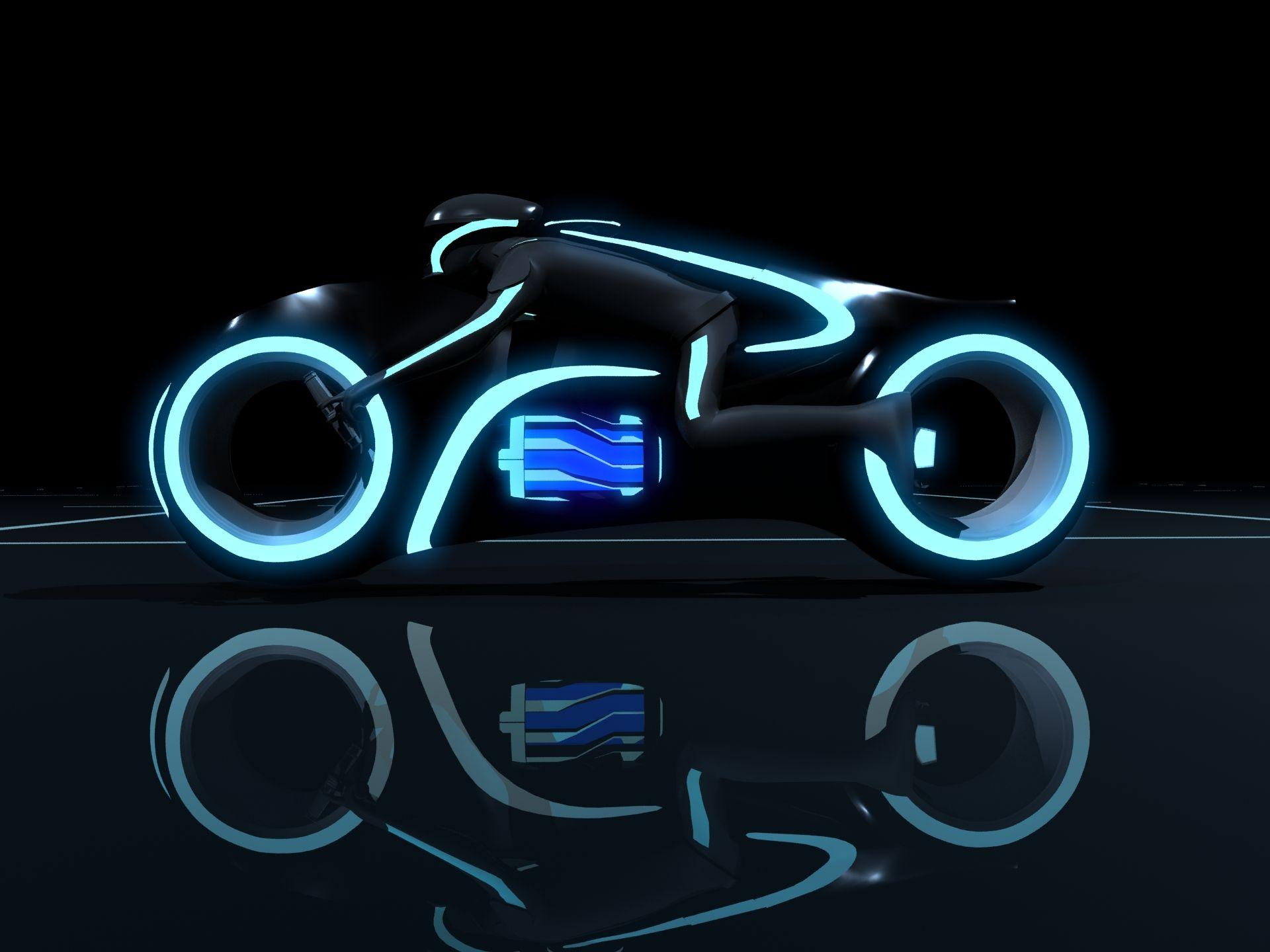Tron Bike Wallpapers Wallpaper Cave