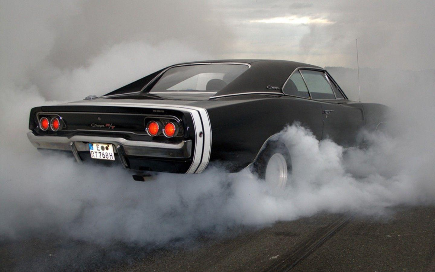 cars, muscle cars, Dodge, vehicles, 1968, burnout, Dodge Charger