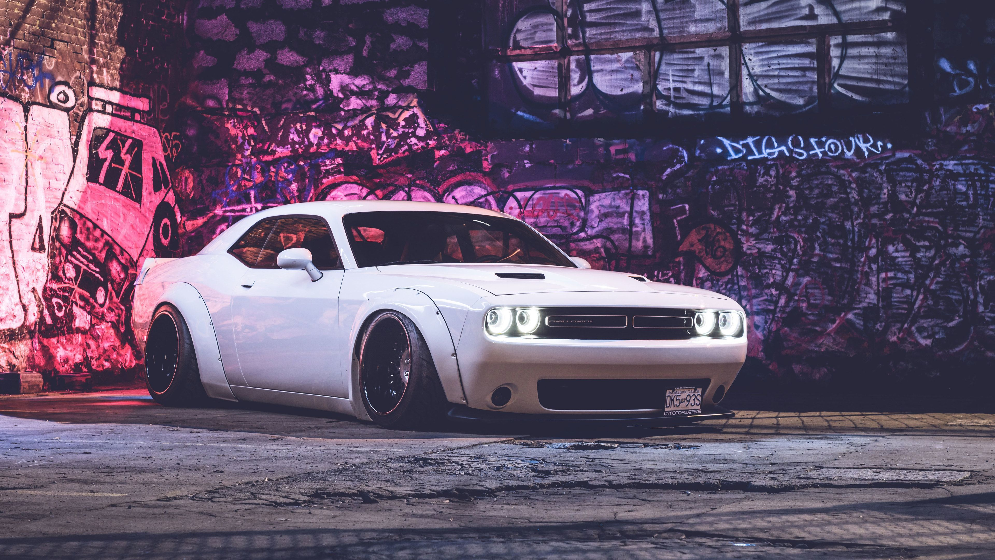 Dodge Challenger 5k hd