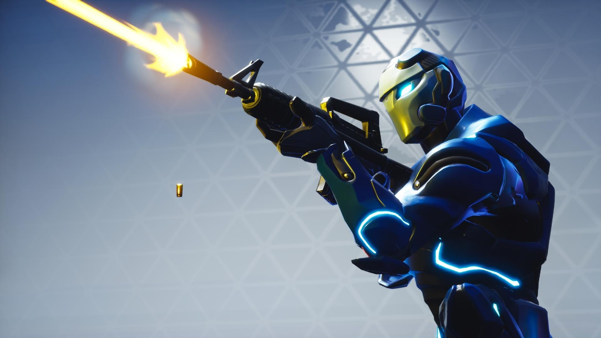 I'm really enjoying taking these Carbide shots : FortNiteBR