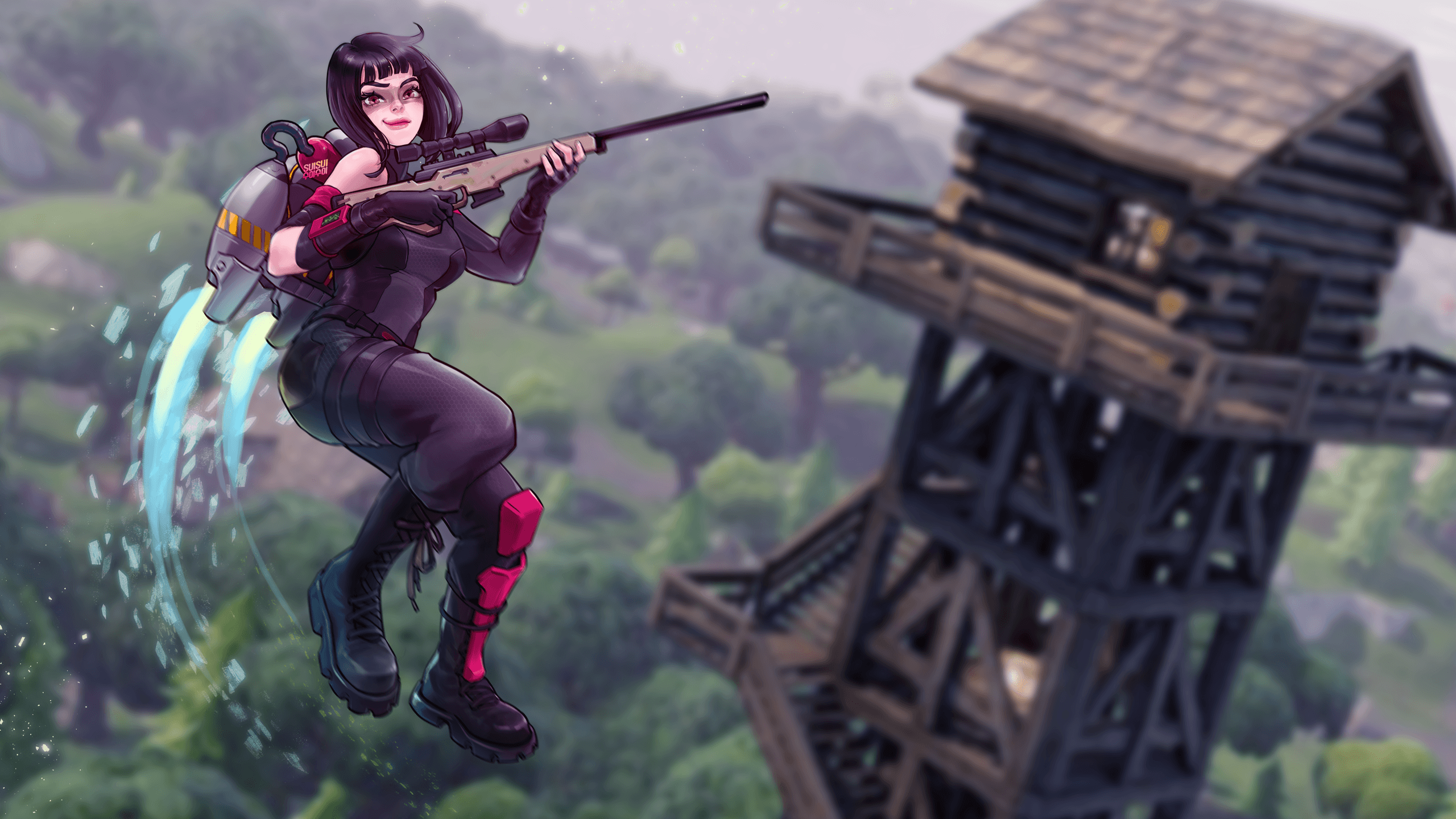 Shadow Ops (Ops Shadow) - Fortnite - Wallpaper #2422401 - Zerochan ...