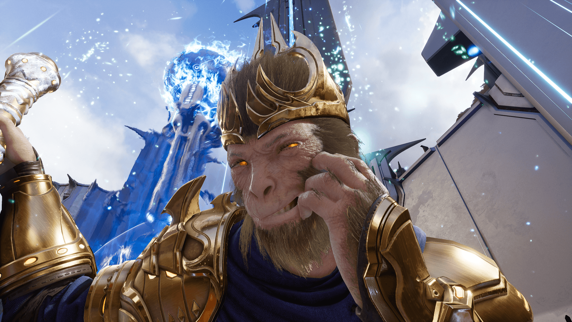 Getting up close with Royal Wukong screenshots!