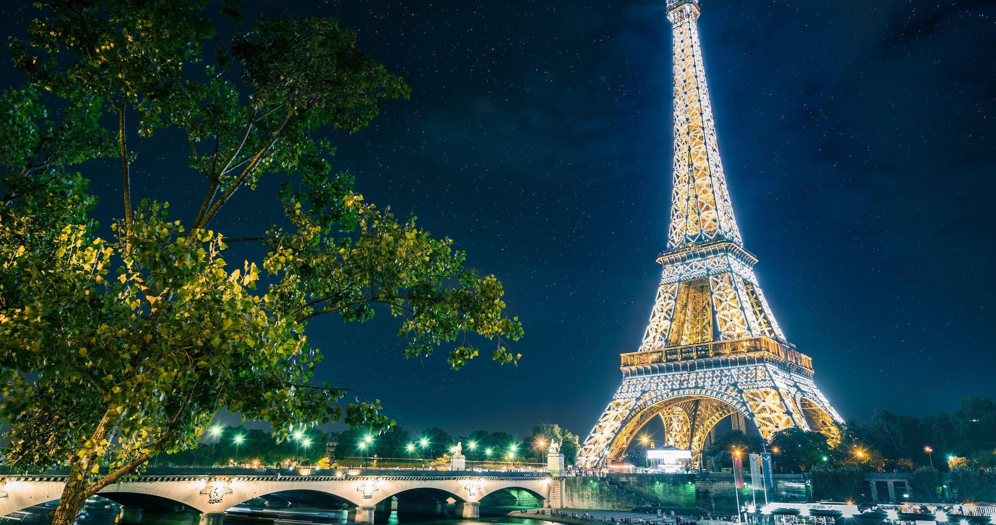 Eiffel Tower 4k Wallpapers Wallpaper Cave