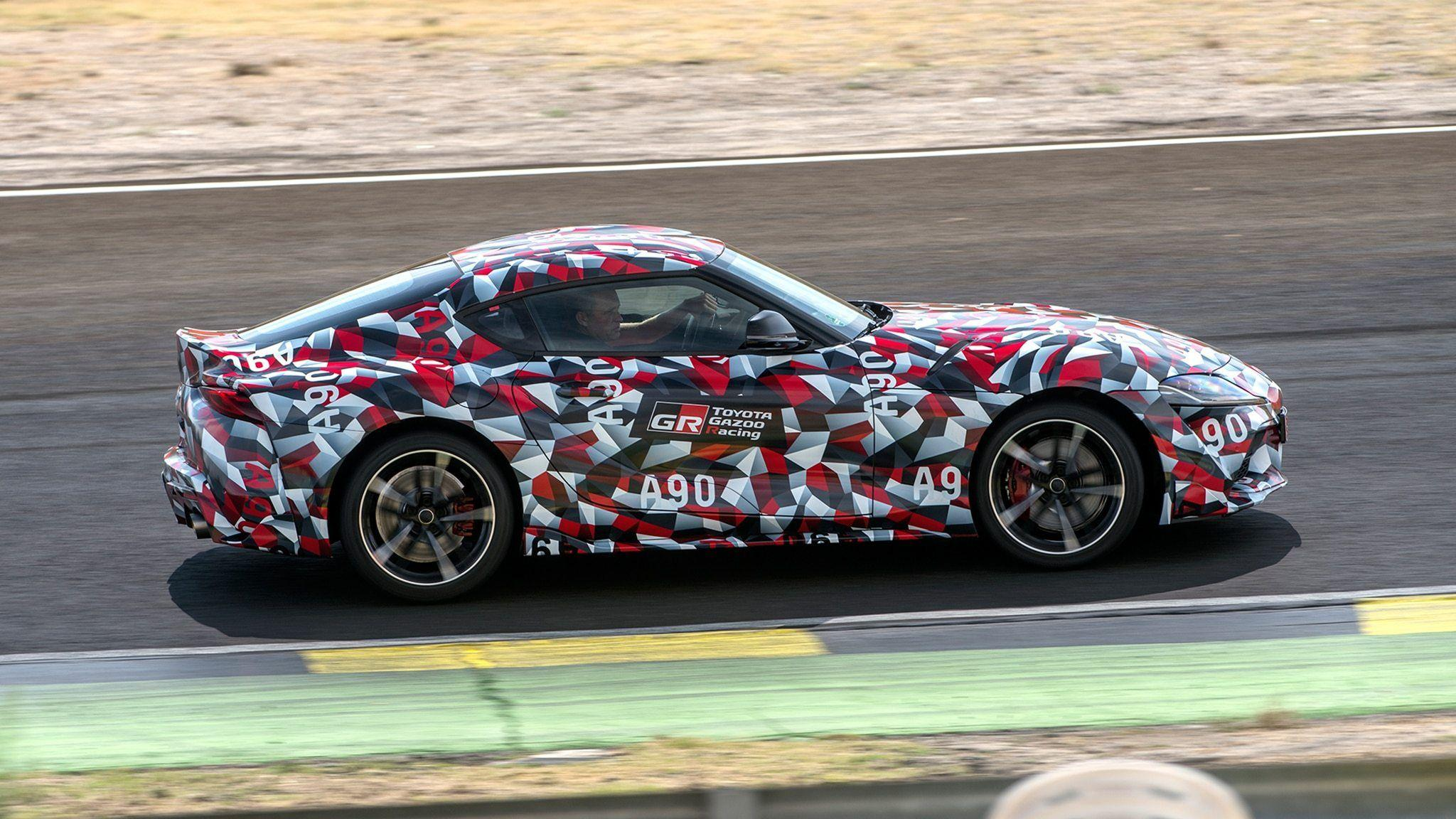 2020 Toyota Supra First Drive Review Automobile Magazine in 2021 ...