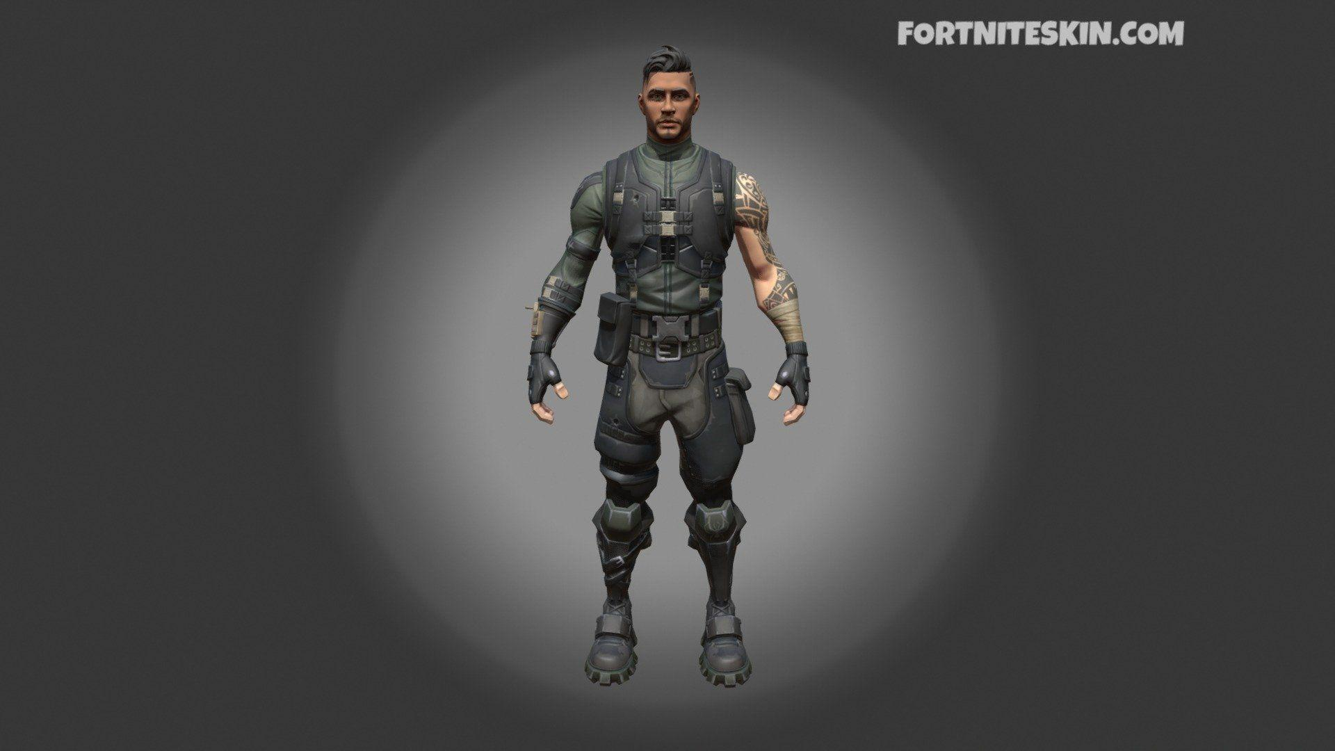 FORTNITE Outfit Squad Leader