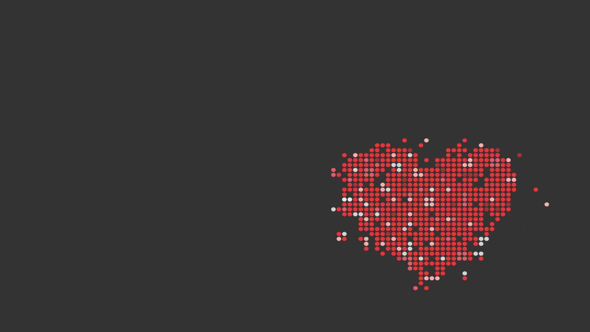 abstract hearts minimalism wallpapers and backgrounds