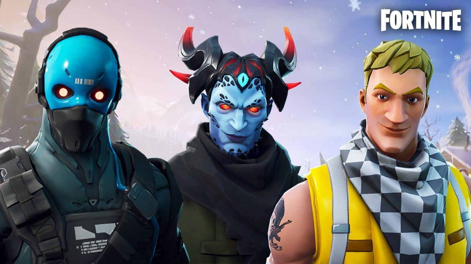Leaked Fortnite skins and cosmetics found in the v7.20 patch files ...