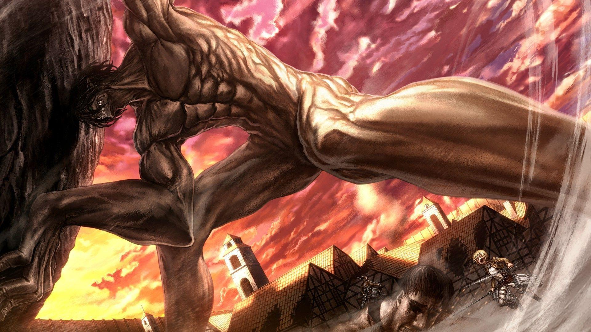 Eren Yeager Attack on Titan wallpapers 16459 1920x1080