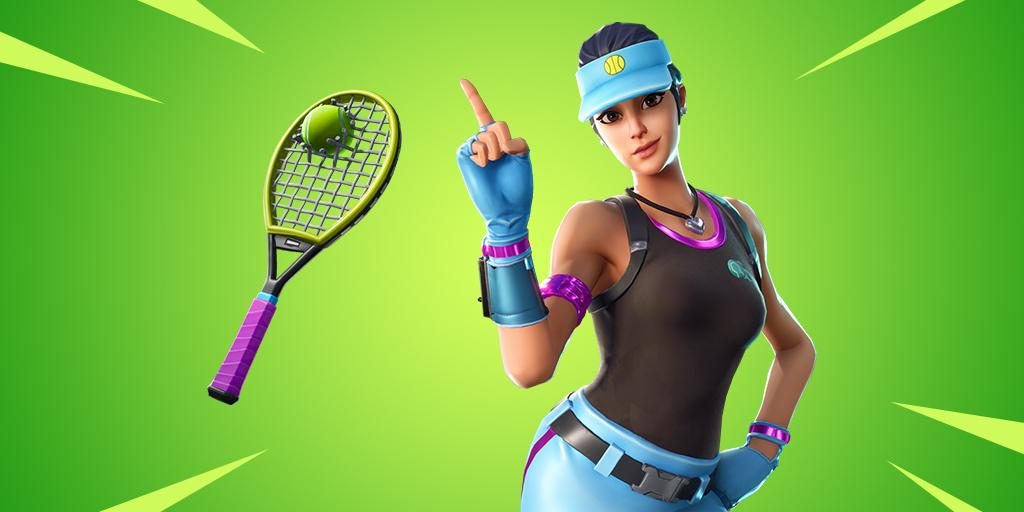 Volley Girl Fortnite wallpapers