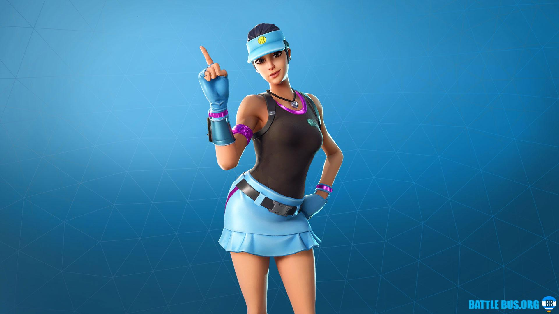 Volley Girl outfit - Volley girl Set, Fortnite skins, info, HD images
