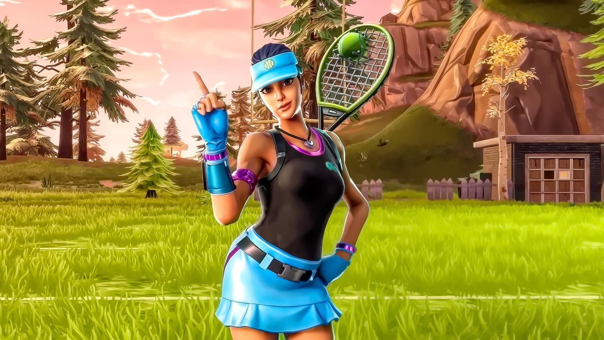 Fortnite Leaks: Upcoming Volley Girl Skin Unearthed • L2pbomb