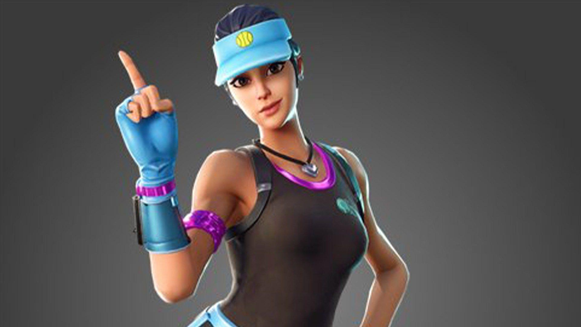 Fortnite's leaked Volley Girl skin is, like, just in time for the
