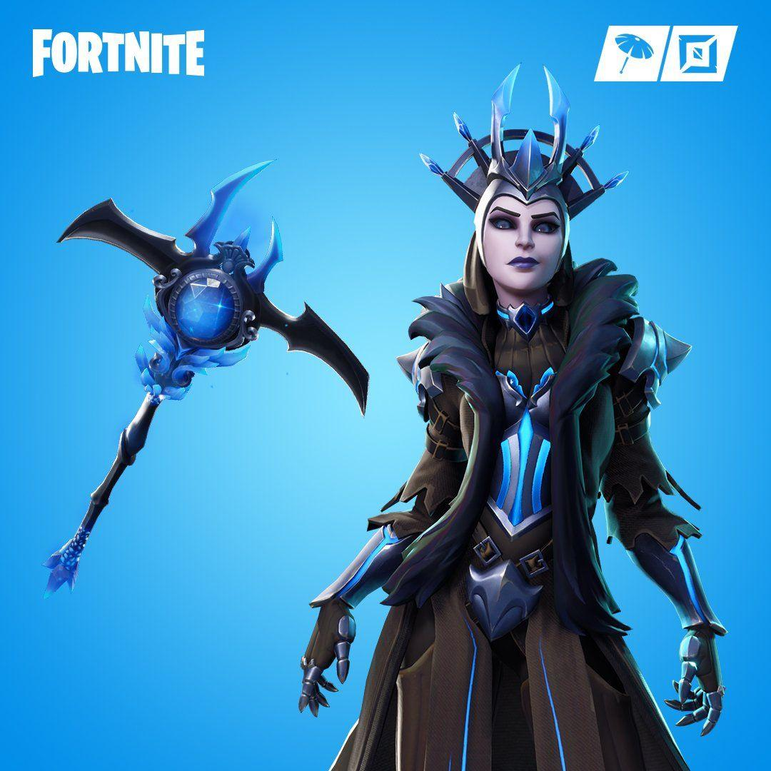 Fortnite on Twitter: Prepare for cold weather. The Ice Queen Outfit