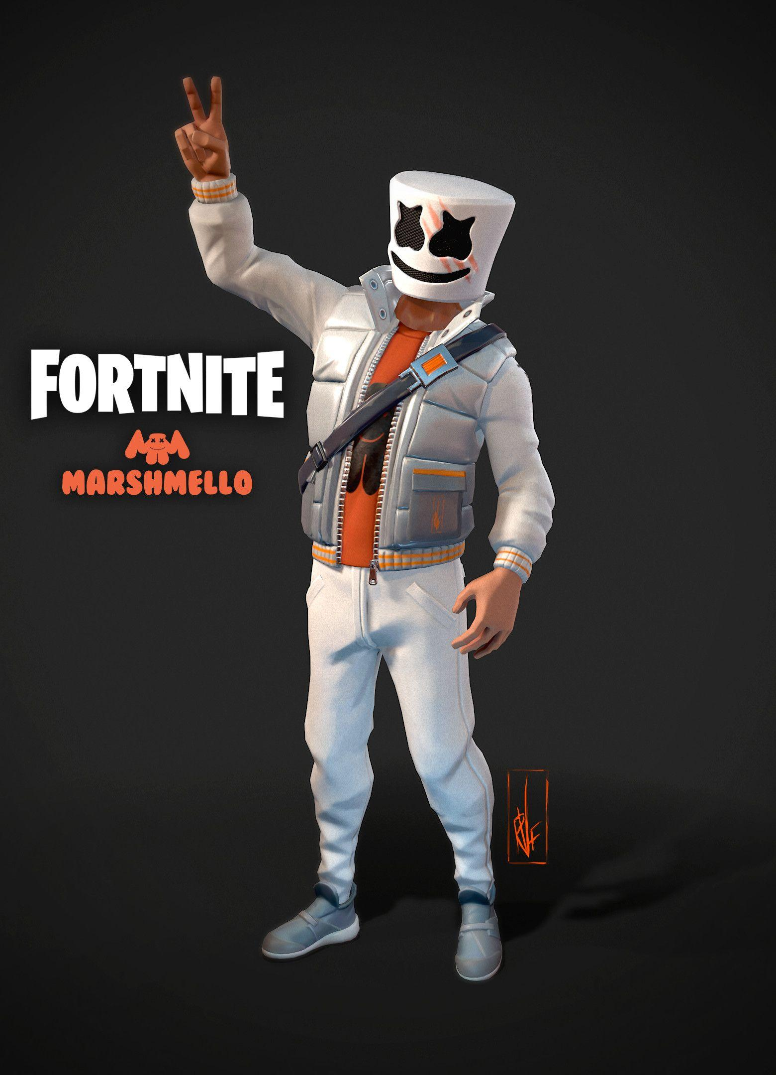 Marshmello Fortnite Wallpapers - Wallpaper Cave