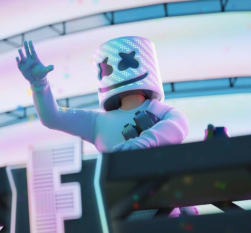 Marshmello Fortnite Wallpapers