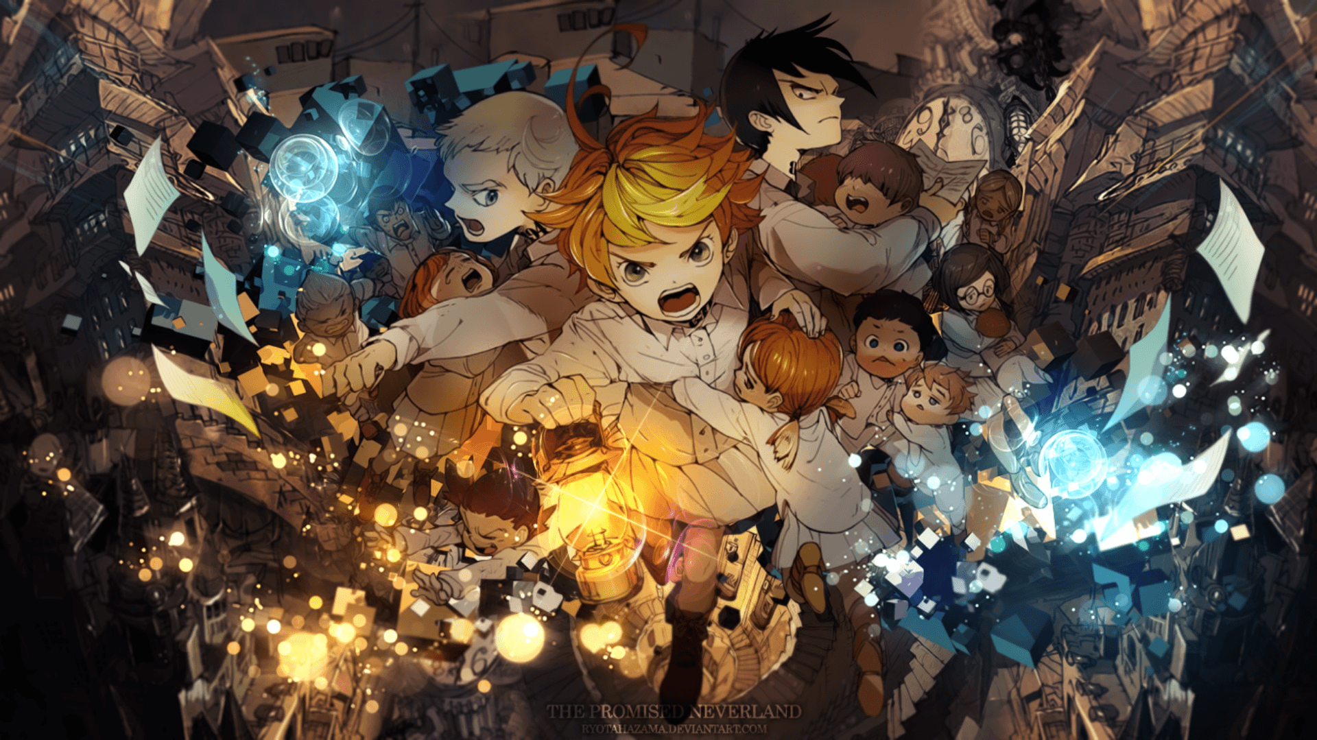 The Promised Neverland Wallpapers Wallpaper Cave
