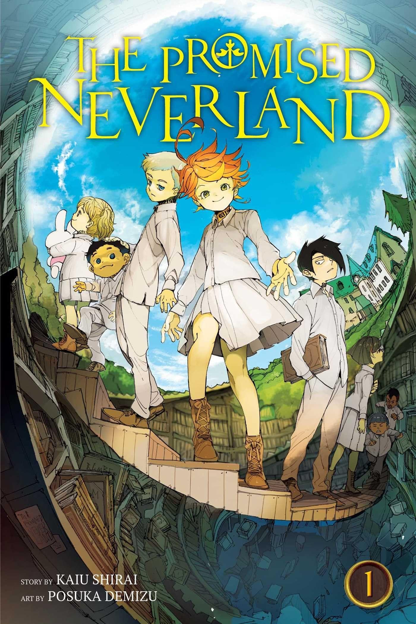 The Promised Neverland, Vol. 1: Amazon.co.uk: Kaiu Shirai, Posuka