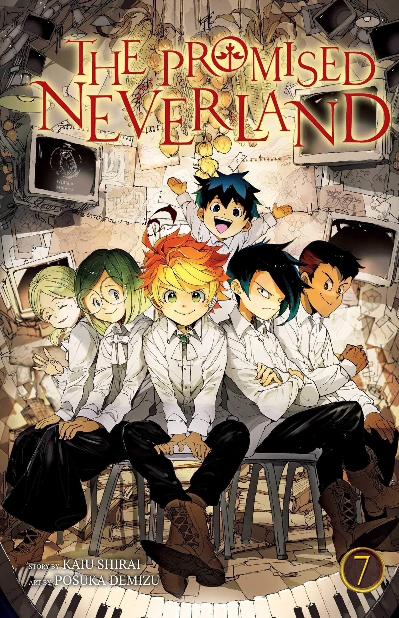 The Promised Neverland, Vol. 7: Amazon.co.uk: Kaiu Shirai