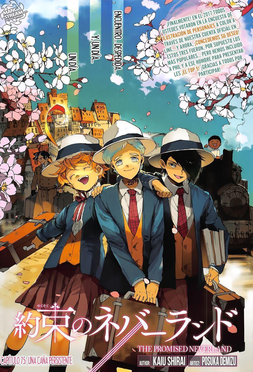 The Promised Neverland Capítulo 75 página 2, The Promised Neverland