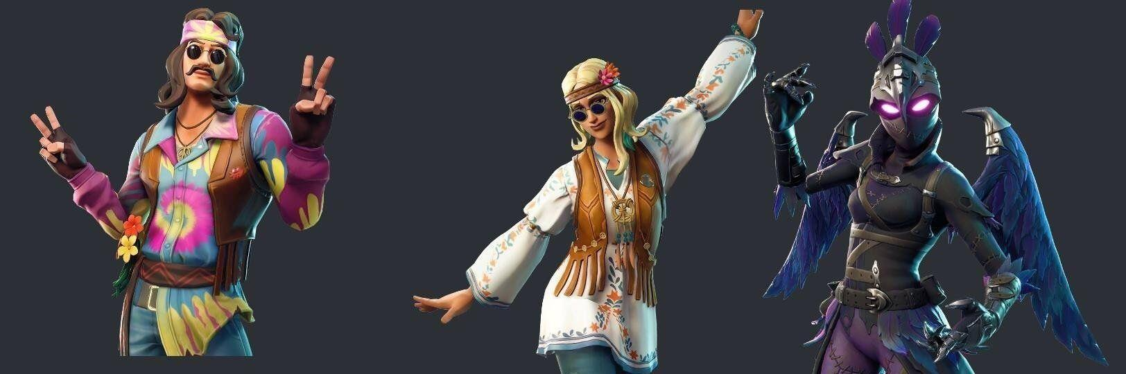 Fortnite Leaked Skins & Emotes Include Road Trip, Musha, Dreamflower