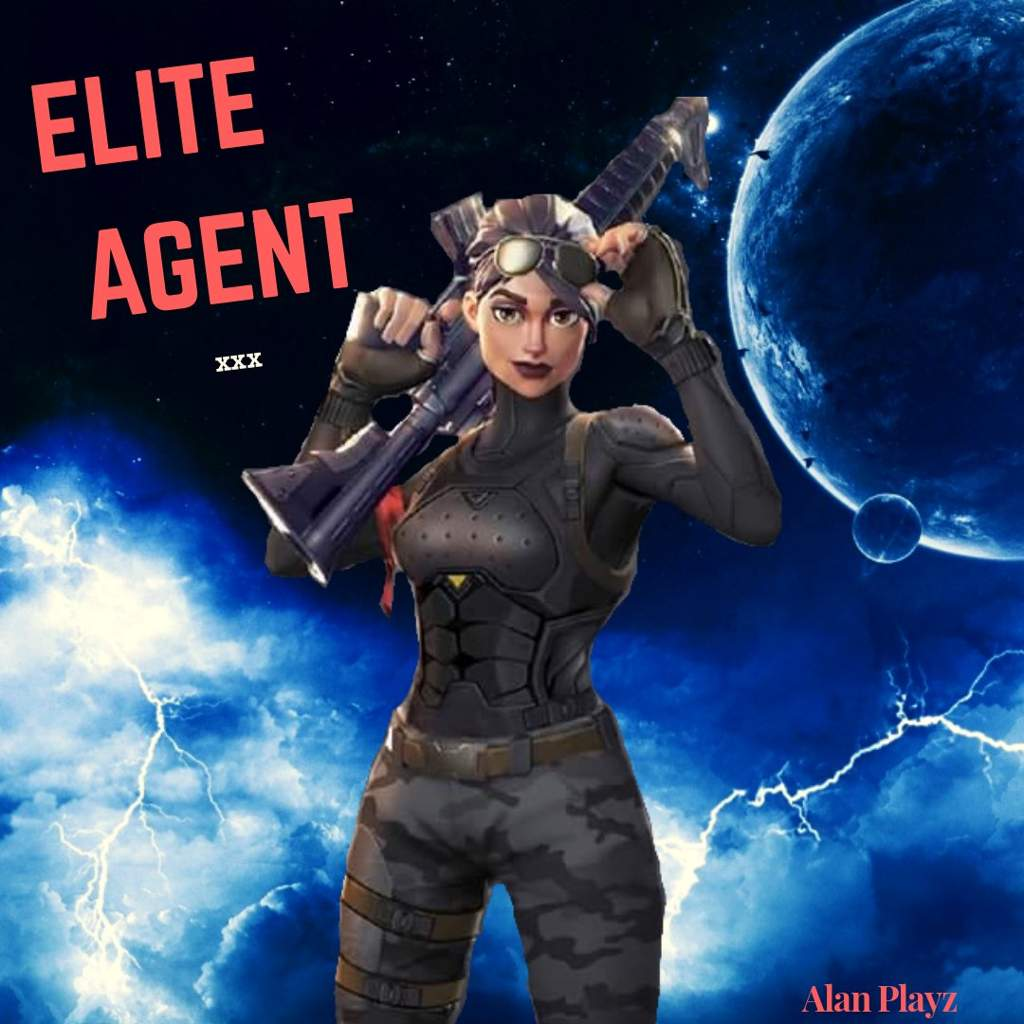 Elite Agent Fortnite Wallpapers Wallpaper Cave