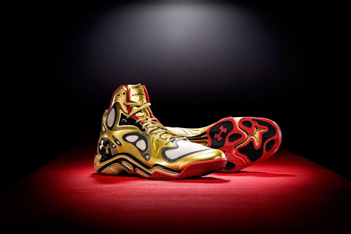 stephen curry gold shoes Online
