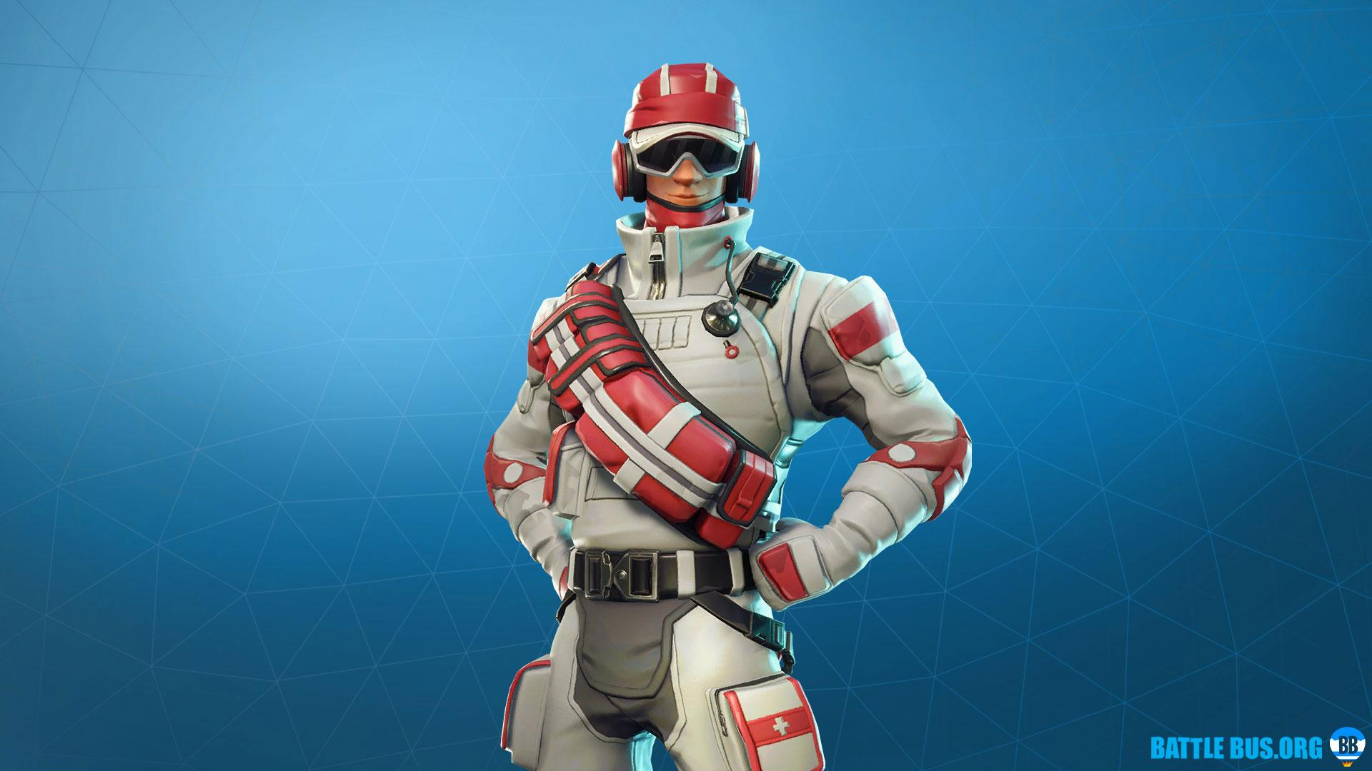 Triage Trooper - Outfit - Support Squadron Set - Fortnite News ...