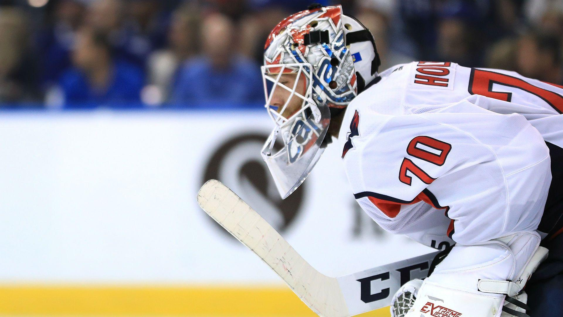 NHL playoffs 2018: Braden Holtby putting up sterling numbers