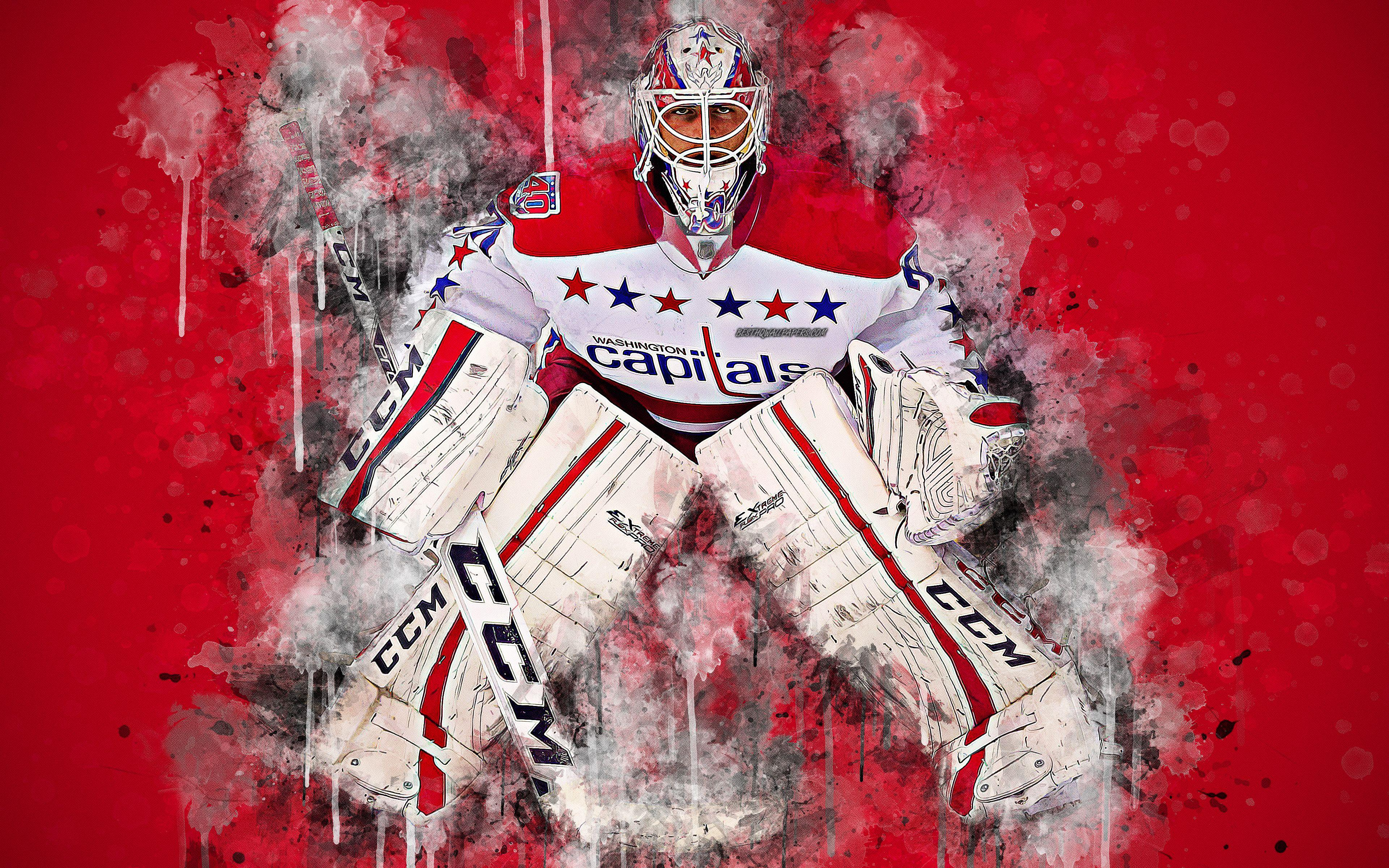 Download wallpapers Braden Holtby, 4k, Canadian hockey player