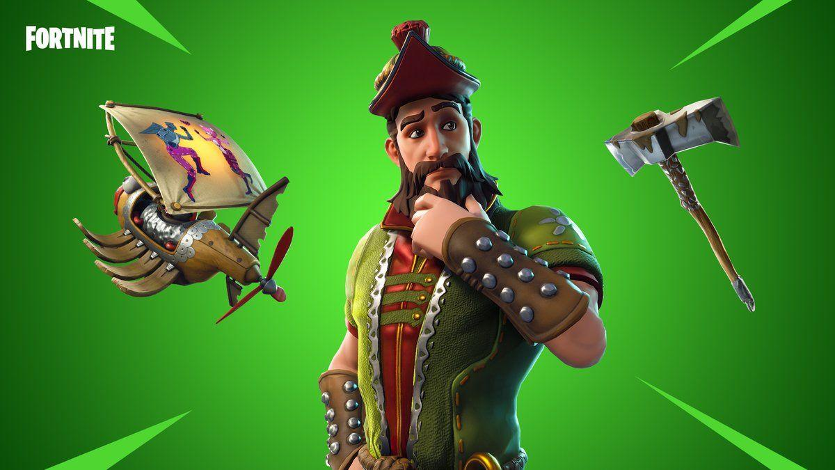 Fortnite on Twitter: From lore to legend. The new Hacivat Gear is