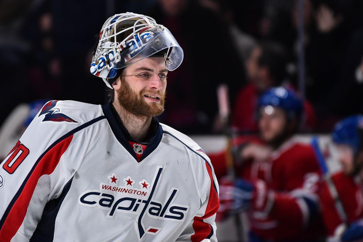 Capitals to auction off goalie Braden Holtby's mask for You Can Play