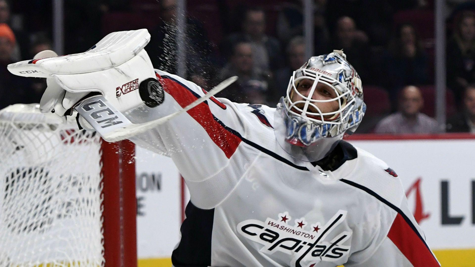 Capitals goalie Braden Holtby recalls bizarre NHL debut on 8
