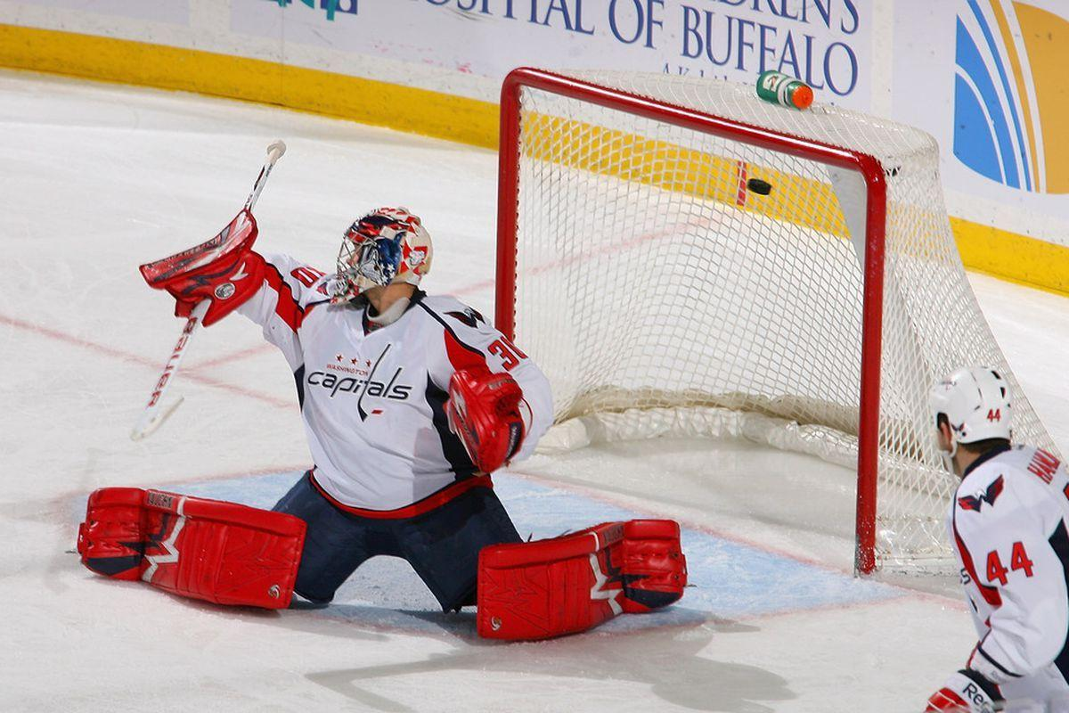 Michal Neuvirth Calls Braden Holtby His 'Weakest Competition' For