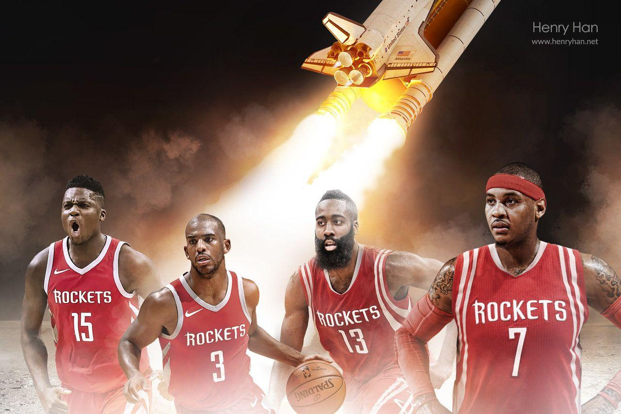Capela added to this Rockets wallpaper! | ClutchFans