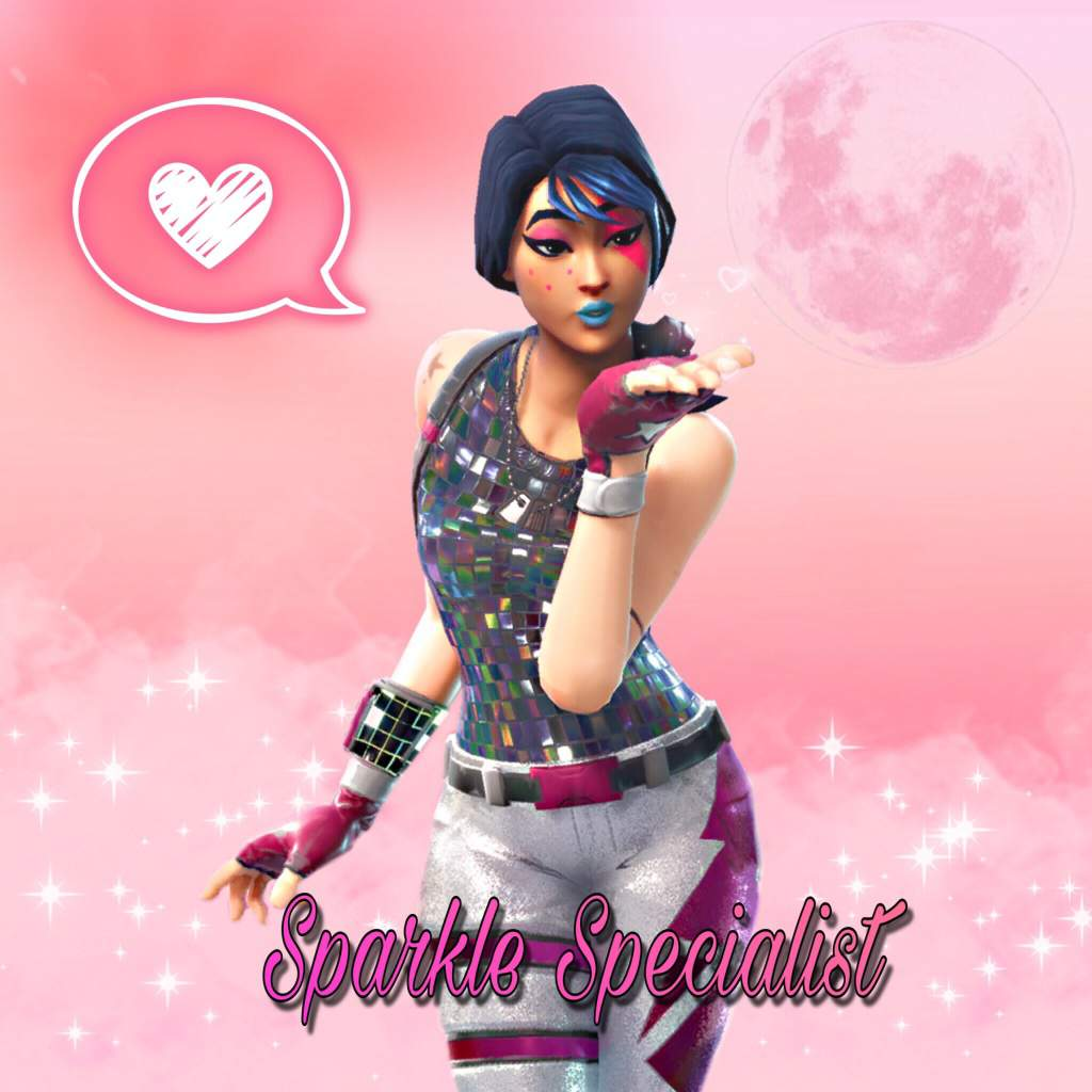 Sparkle Specialist Fortnite Wallpapers Wallpaper Cave