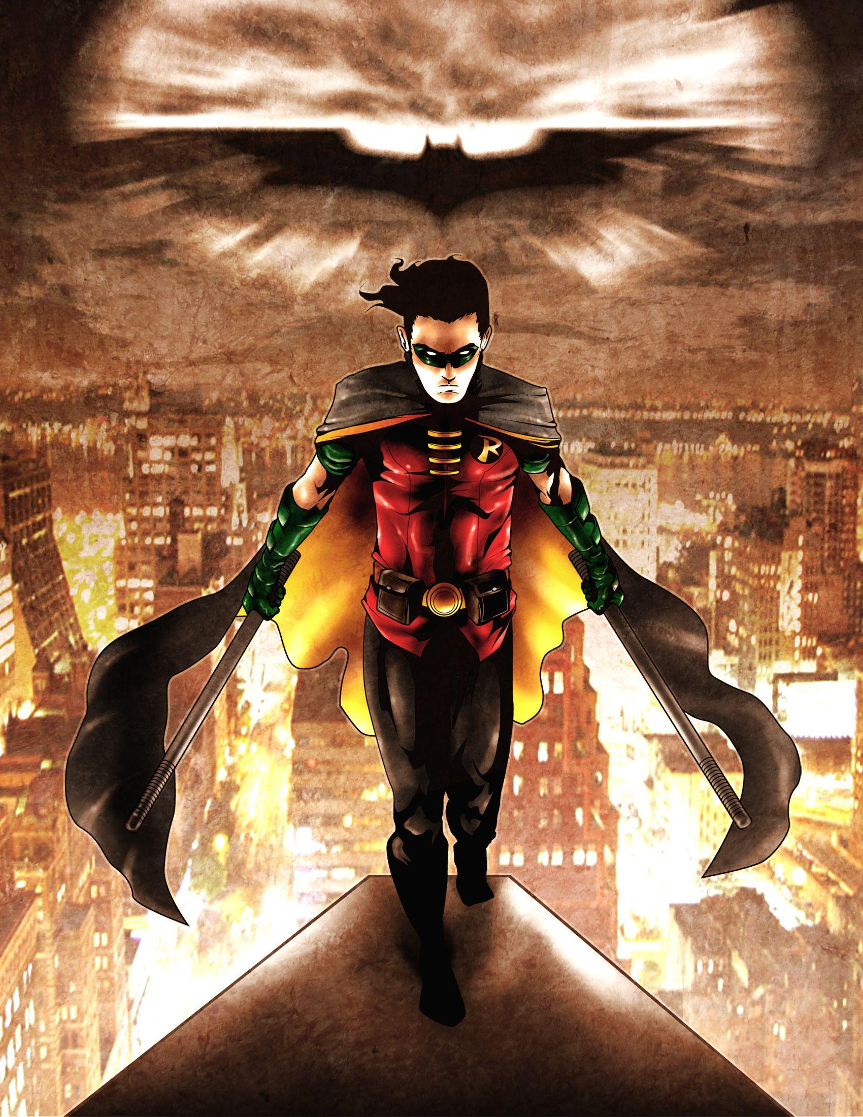 Robin/Dick Grayson/Nightwing image Robin HD wallpapers and
