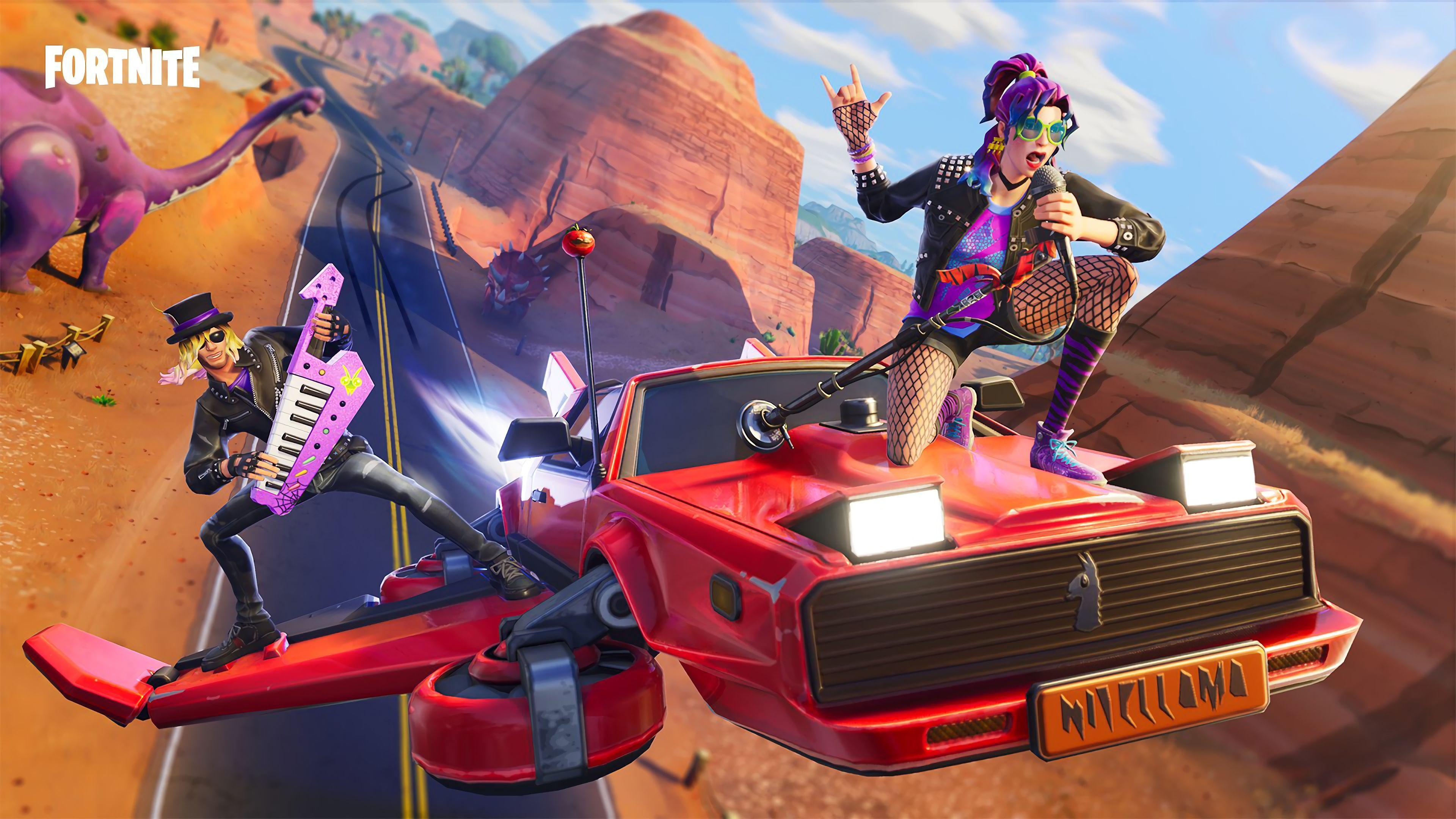 3840x2160 synth-star-and-stage-slayer-hot-rod-glider-fortnite-battle ...