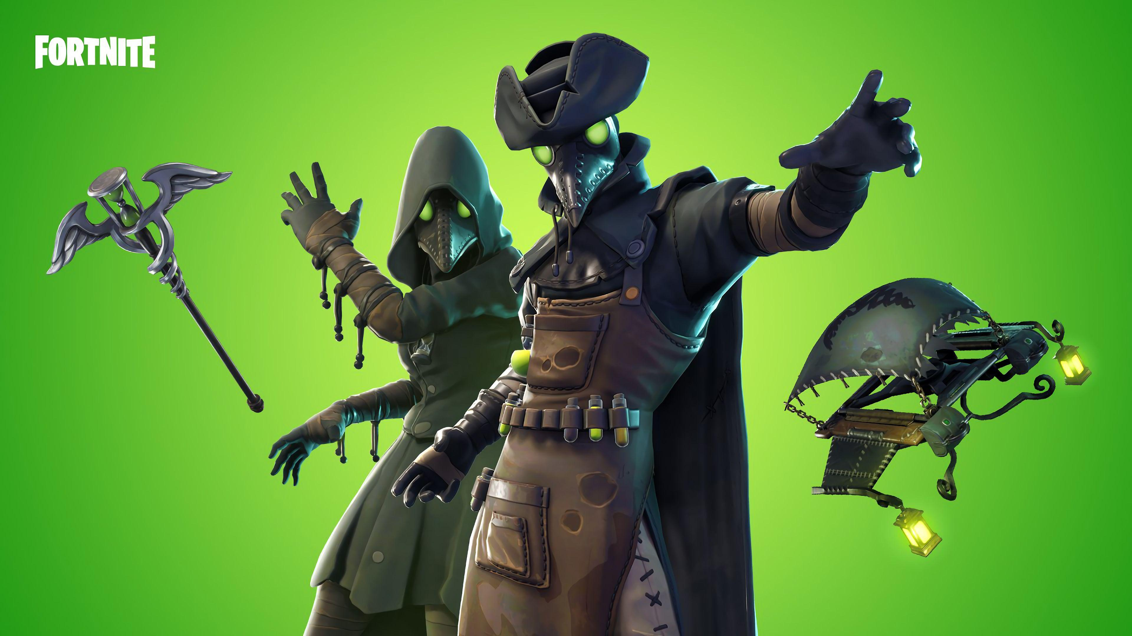 4K Background Fortnite Skins Scourge & Plague #4332 Wallpapers and ...