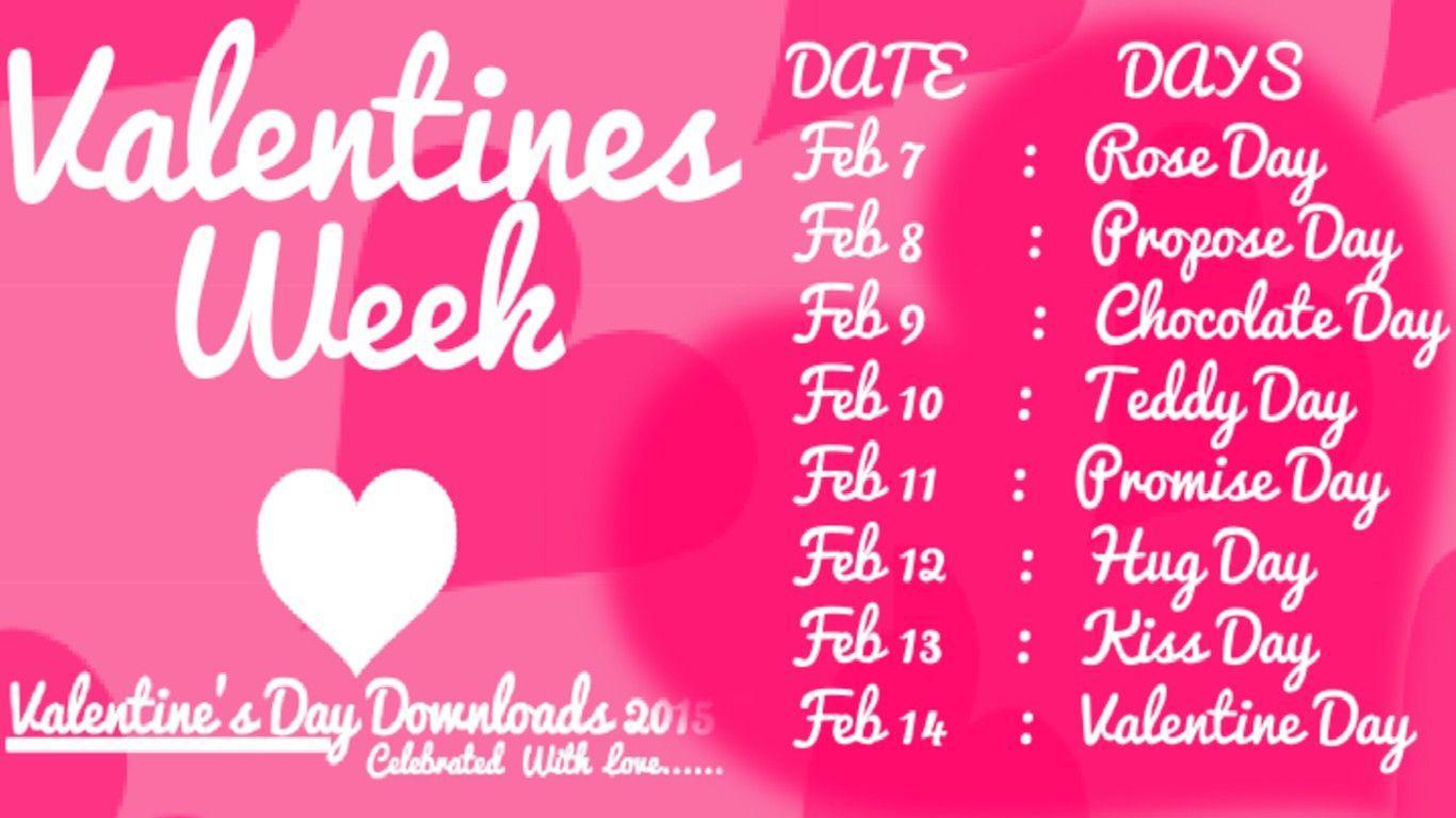 valentines week list 2019 wallpapers wallpaper caveall about valentine week list 2019 days happy valentines day dates