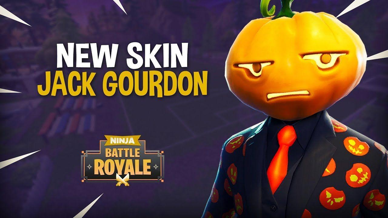 NEW* Jack Gourdon Skin!! - Fortnite Battle Royale Gameplay - Ninja ...