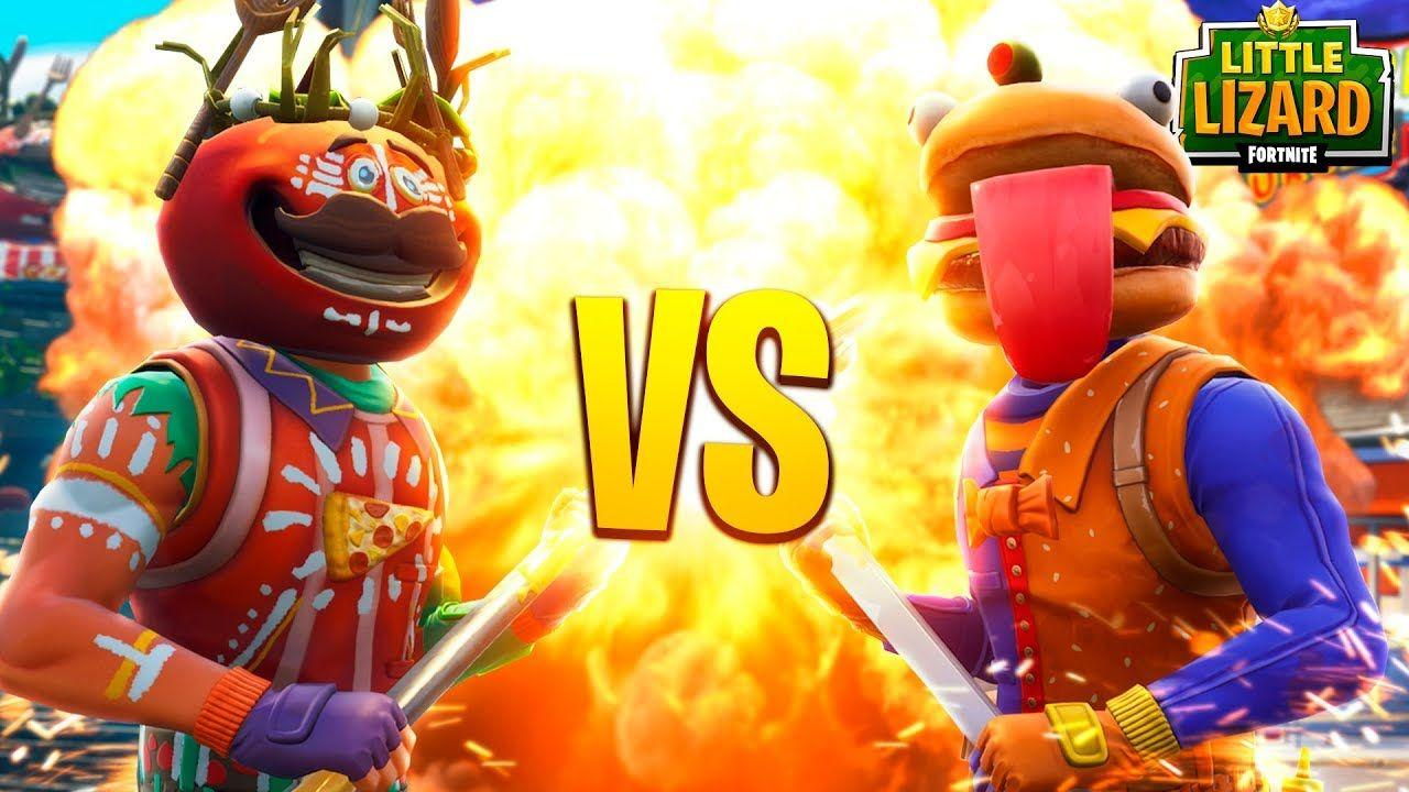 BEEF BOSS VS ANCIENT TOMATO HEAD!!! - Fortnite Short Film - YouTube