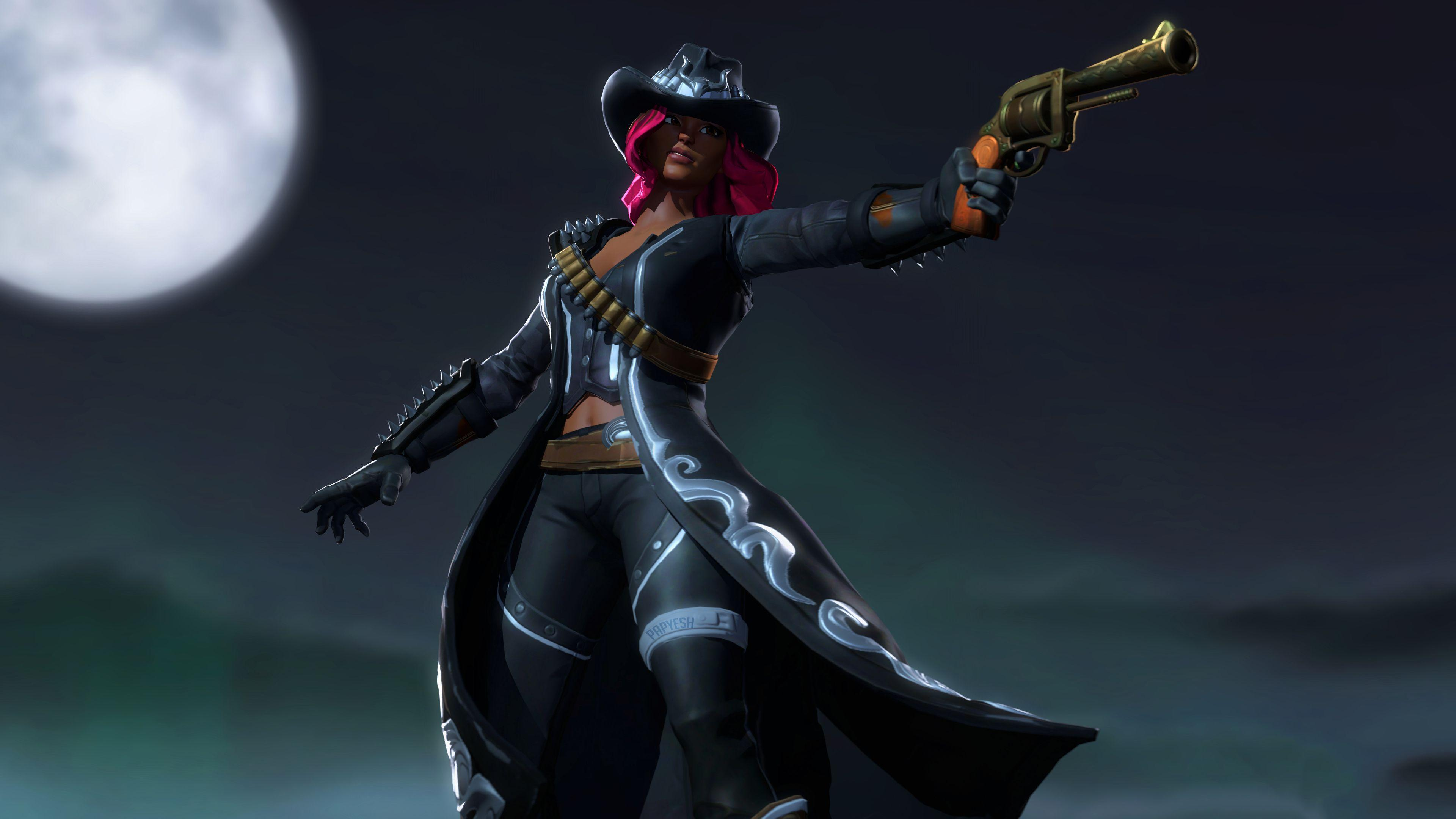 Fortnite Calamity skin wallpapers