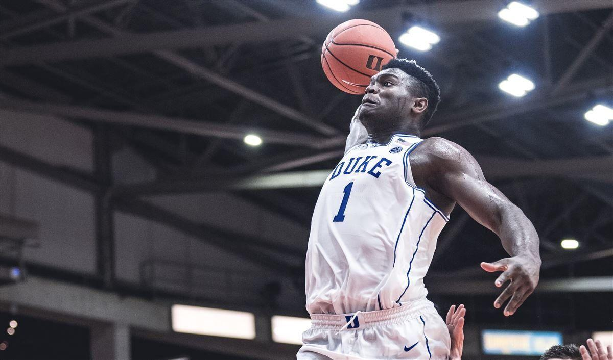 Duke releases photo of ripped-up Zion Williamson
