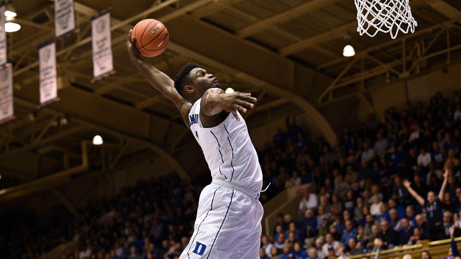 Duke's Zion Williamson rates his insane 360-degree dunk as just 'a 7 ...