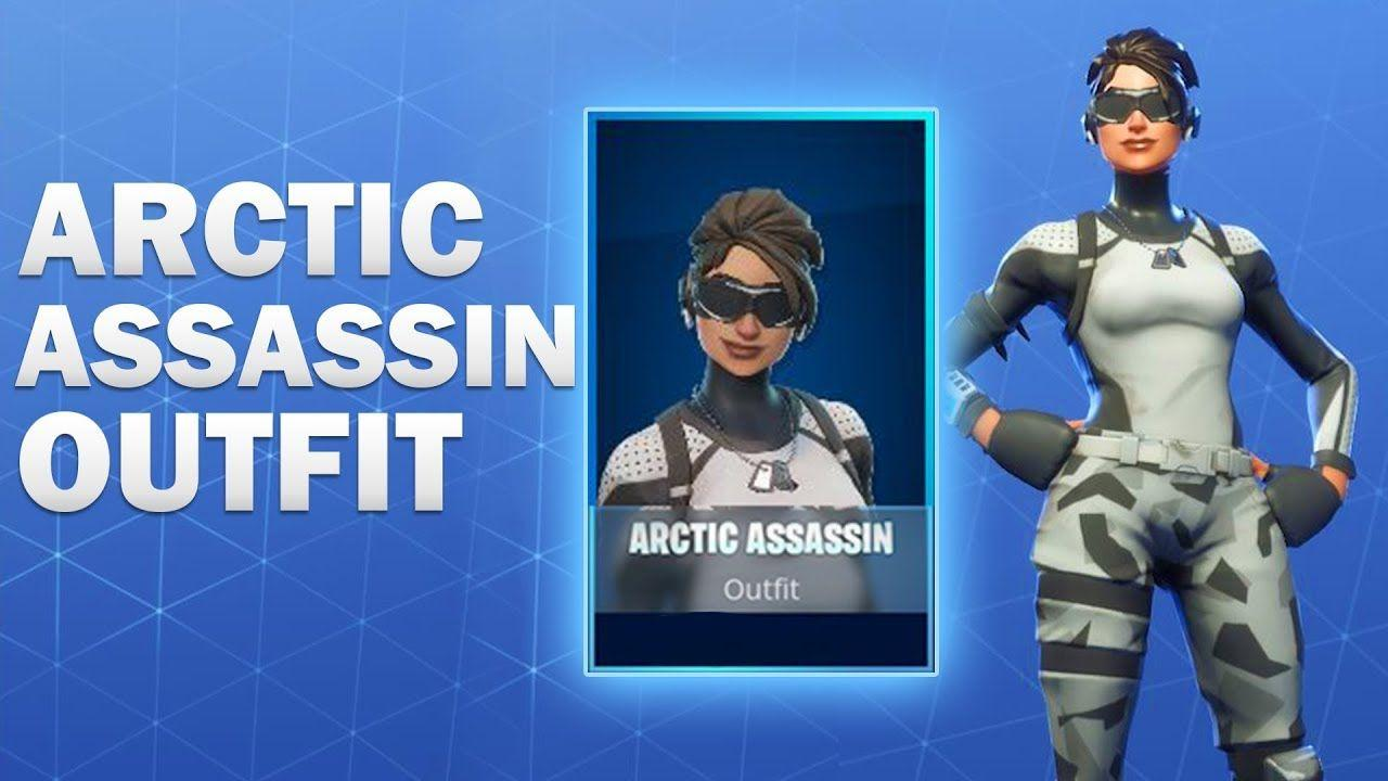 Fortnite Arctic Assassin Skin Related Keywords & Suggestions ...