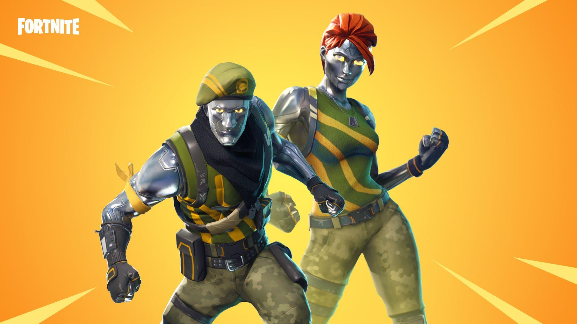 Fortnite v4.3 Now Adds Bouncer Traps and Chrome Commandos